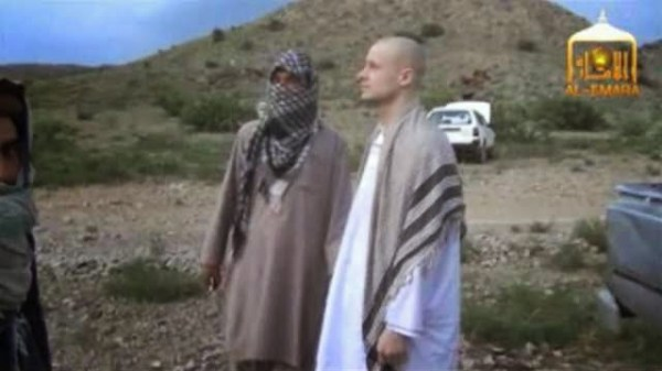 bowe being handed over by taliban