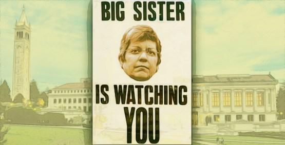 Big Sis is watching