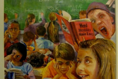 Deliberately Dumbing Us Down to Affect Social Change