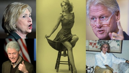 Political Clown Show  Sally-Miller-and-the-Clintons