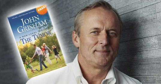 John Grisham is Giving His Book Away for Free to Educate People on an Alternative Cure for Cancer John-grisham-the-tumor