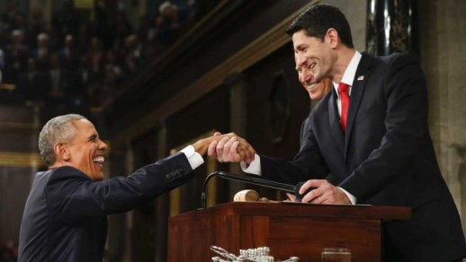 Paul Ryan New President of the Republic - Received with Mixed Feelings Obama-ryan