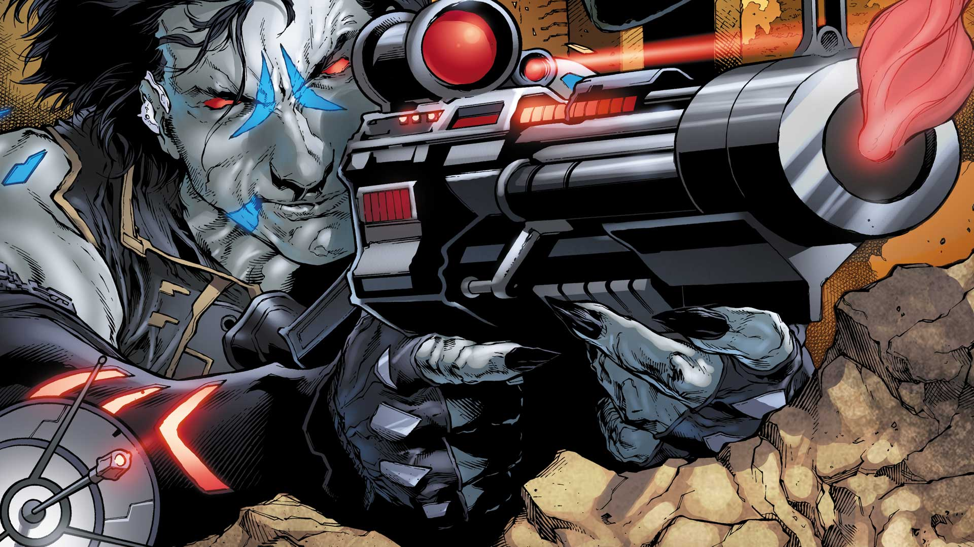 Blood Money Wallpaper Hd Lobo Dc