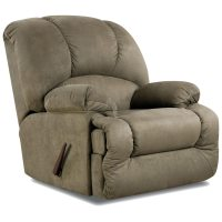 Virginia Fabric Recliner - Pillow Top Arms, Glacier Olive ...