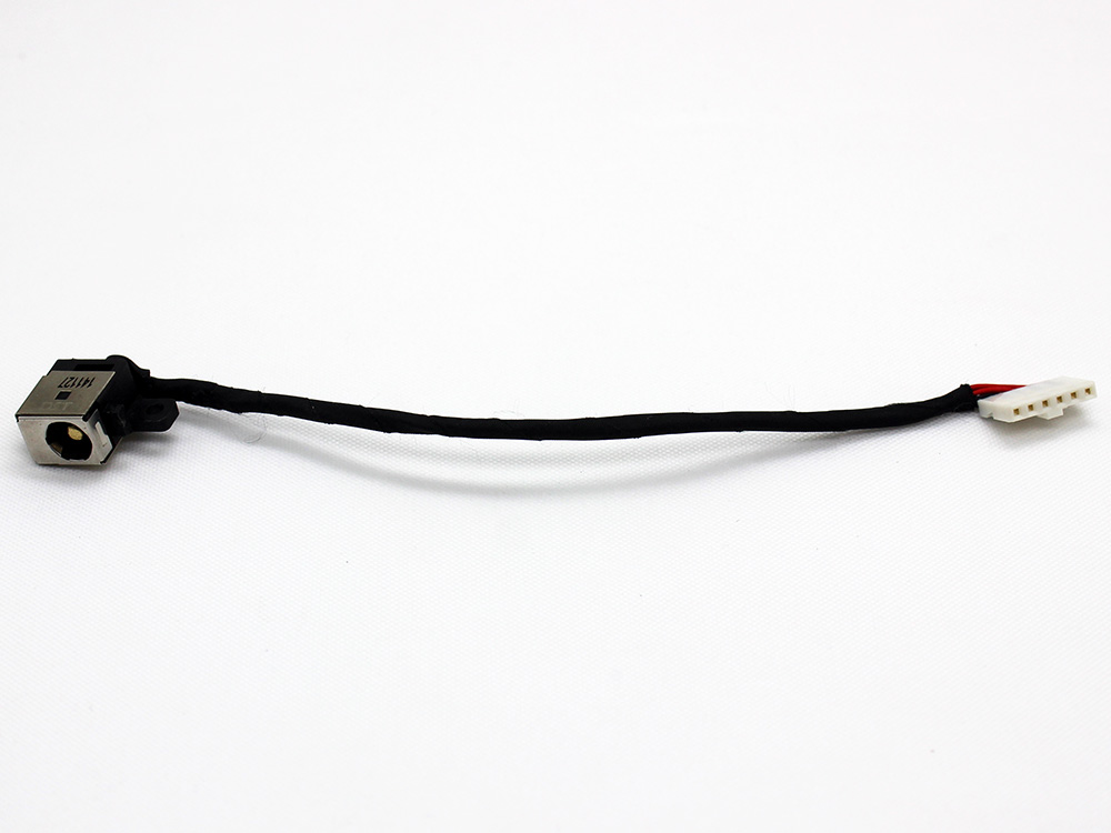 details about original dc power jack socket and cable wire for toshiba