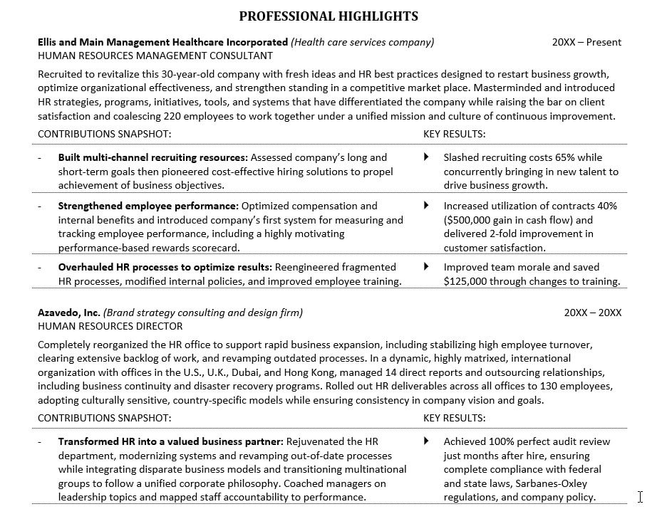 How To Improve Your Resume With 5 Easy-to-Make Resume Changes - resume improved