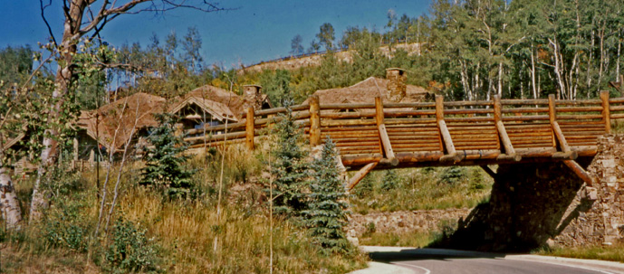 Bachelor Gulch - Entry Bridge