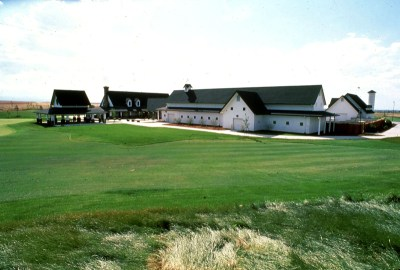 Murphy Creek Clubhouse Pro Shop, Maintenance Facilities, and Prairie Farmhouse Compound