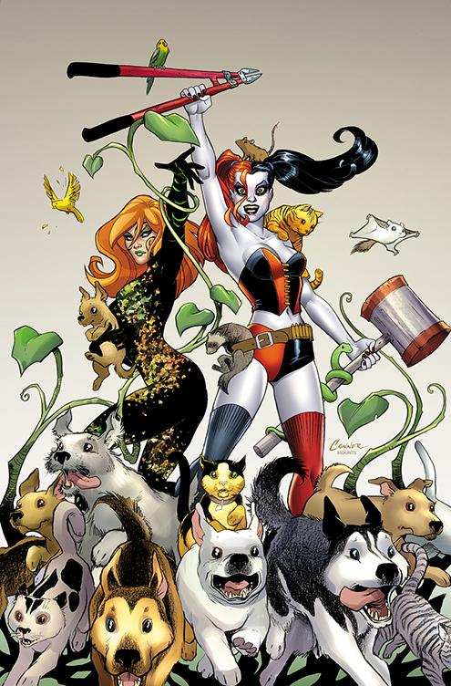 Gotham Girls Derby Wallpaper Amanda Conner Couvre Le Second Tirage D Harley Quinn 2