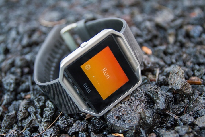 Fitbit Blaze In-Depth Review DC Rainmaker
