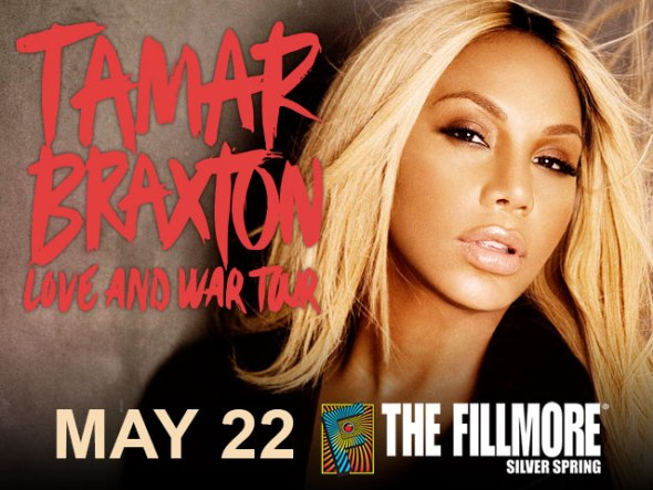 Tamar Braxton at THE FILMORE SILVER SPRING - May 22 2014