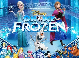 Disney On Ice Frozen with Mickey Mouse and Friends