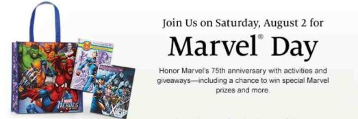 Marvel Day - Barnes and Noble