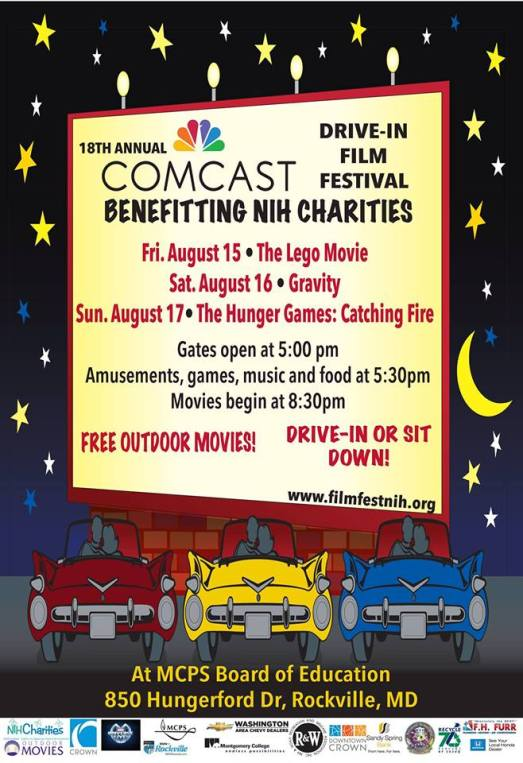 Drive-In Film Festival benefitting NIH Charities
