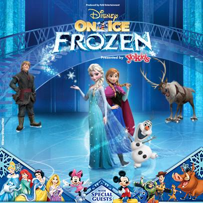 Disney On Ice - Frozen with Disney Characters