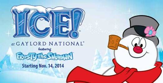 ICE! Discount at the Gaylod National - October 2014
