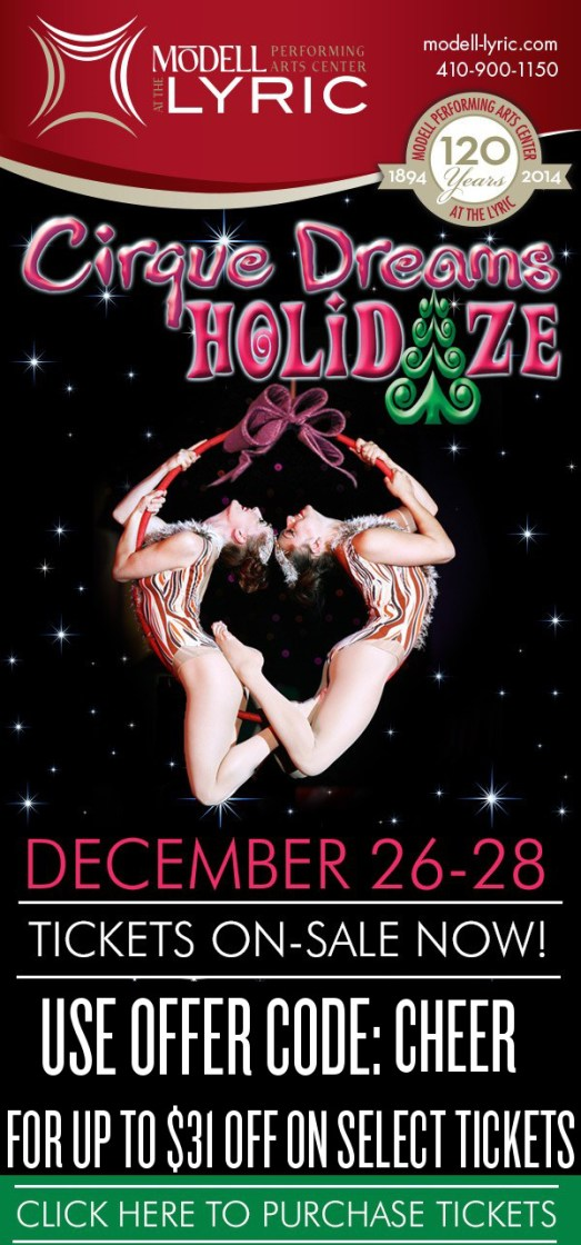 cirque Dreams HOLIDAZE - blast CHEER