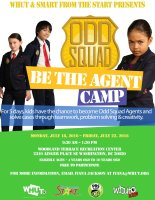 Odd Squad Be the Agent Camp - July 2016