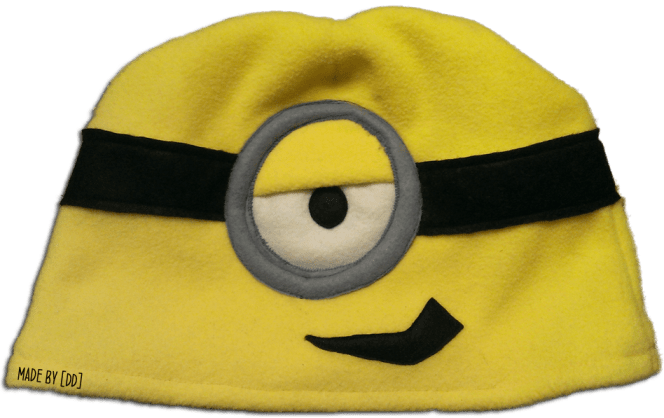Bonnet Minion fait main