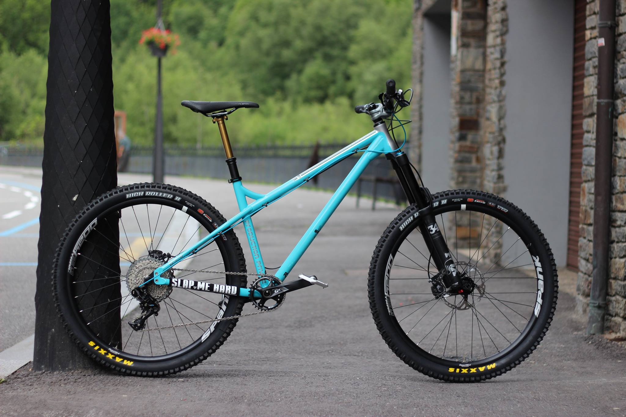 New 2017 Production Privee Shan 27 steel hardtail