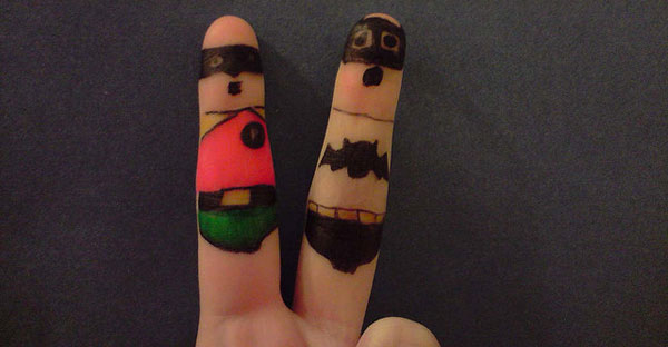 Finger Characters (9)