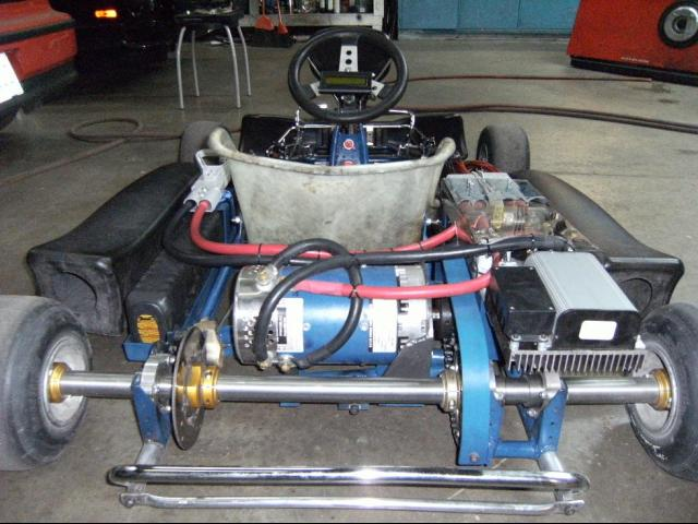 Electric Go-Kart Motor Made In USA, Electric Go Kart Kit Motor
