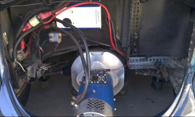 Electric Car Motors Made In The USA - DC EV Motors for Electric Car