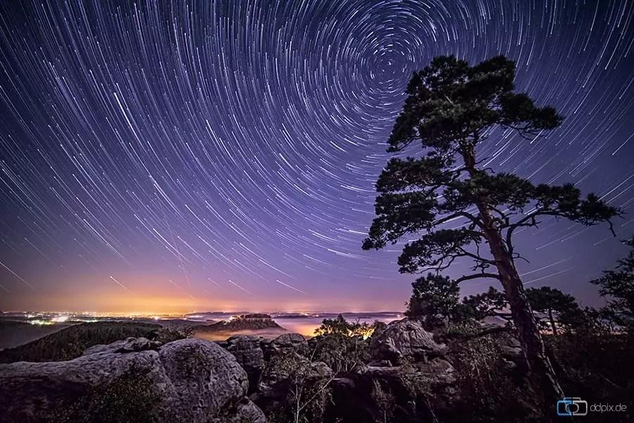 Sterne und Sternenspuren fotografieren, Tipps und Tricks