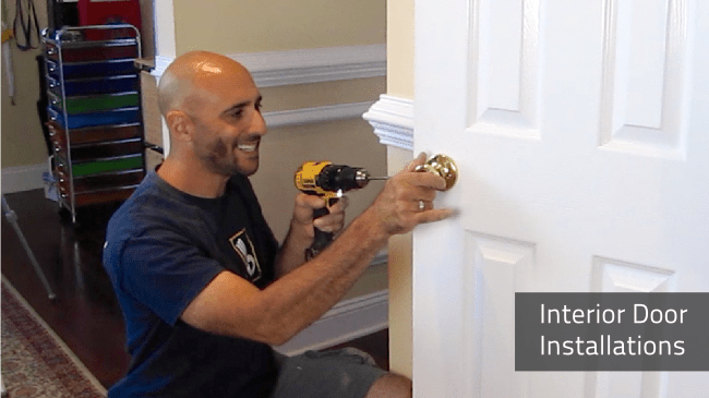 Interior Door Installation | Deacon Home Enhancement