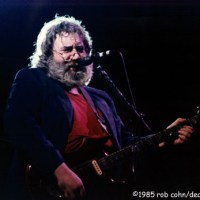 Dead Image Jerry Garcia, Grateful Dead, Comes A Time, June 28 1985