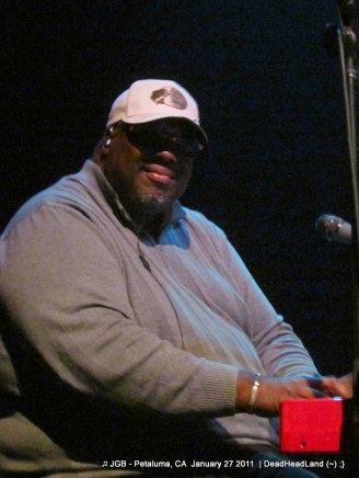 Melvin Seals - JGB Band - McNear's Mystic Theatre Petaluma CA Jan. 27, 2012