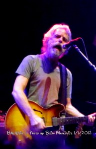 "Bob Weir singing ""The Wheel""  1.1.2012"