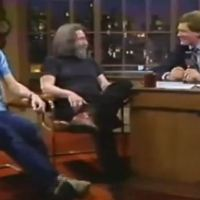 Jerry Garcia and Bob Weir - David Letterman Show 4.13.1983