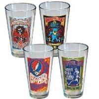 Grateful Dead Drink Glass