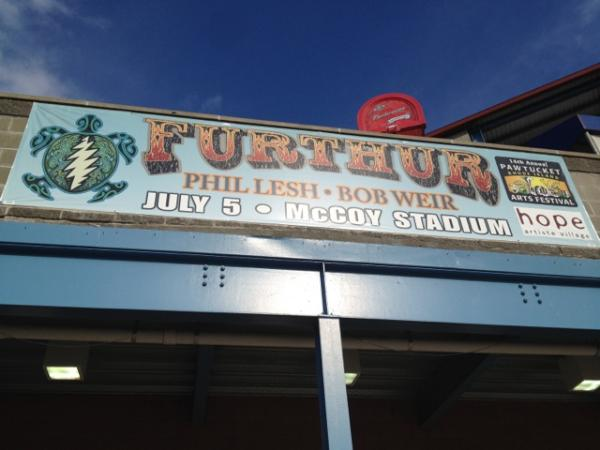 SETLIST: Furthur, McCoy Stadium, Pawtucket, Rhode Island, July 5, 2012, Summer Tour 2012