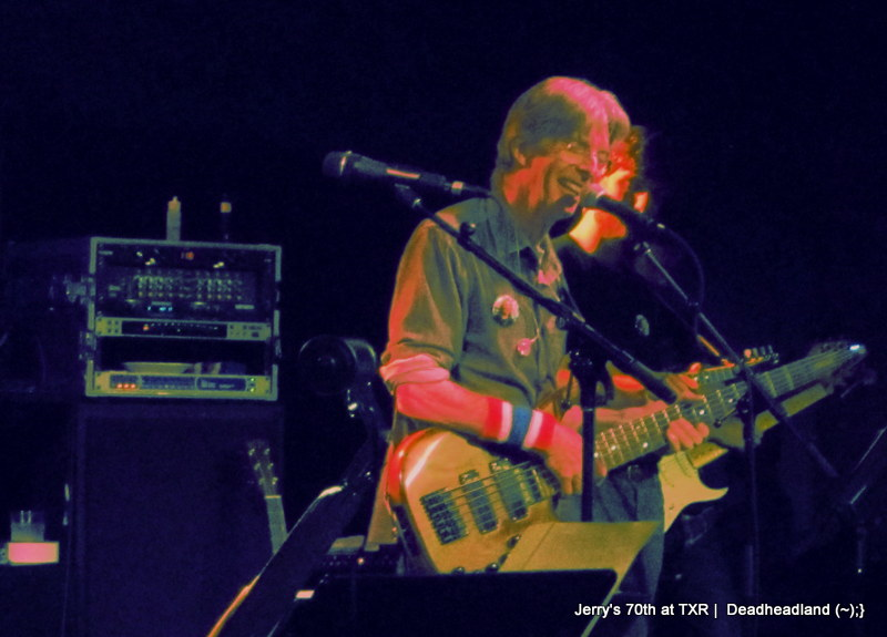 Phil Lesh's dedication to Jerry Garcia on his 70th birthday tribute at Terrapin Crossroads