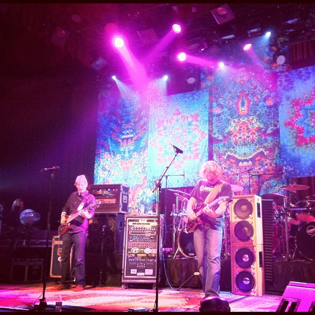Phil Lesh and Rob Eaton - DSO Fillmore 10.13.2012, Photot by @firefromtheice