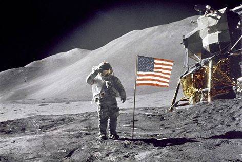 Standing On the Moon July 20 1969