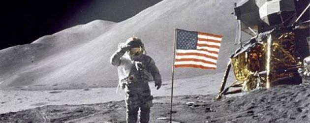 Standing On the Moon - July 20, 1969  (watch replay of moon walk on NASA TV)