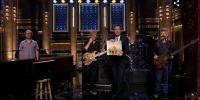 VIDEO: @Phish On @Fallon - The Tonight Show -Waiting All Night - Monday July 14th 2014