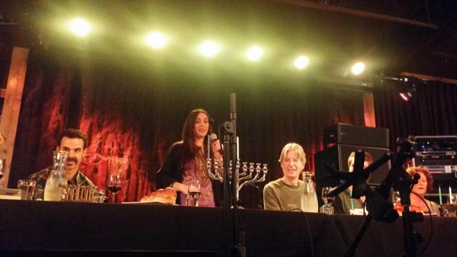 "SETLIST: Terrapin Nation Hanukkah Phil Lesh & Terrapin Family Band w Dan ""Lebo"" Lebowitz, Tuesday December 16, 2014 The Grate Room Terrapin Crossroads San Rafael, CA"