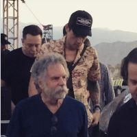 WEIR EVERYWHERE DEPT: @BobWeir w  @ElonMusk @theRyanAdams & @JohnMayer @coachella music festival 2015