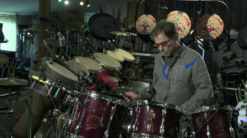 """VIDEO """"Playing in the Band"""" @mickeyhart and the @deadheads"""