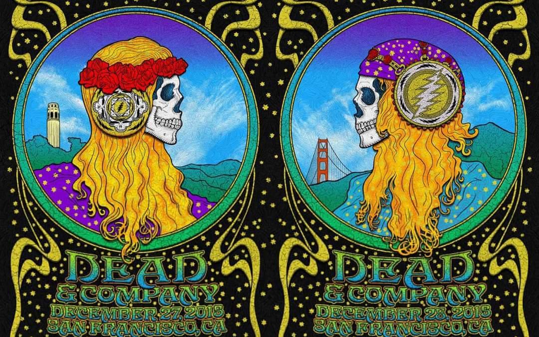 SETLIST: Dead & Company | Bill Graham Civic Auditorium | San Francisco, California | Sunday, December 27th, 2015