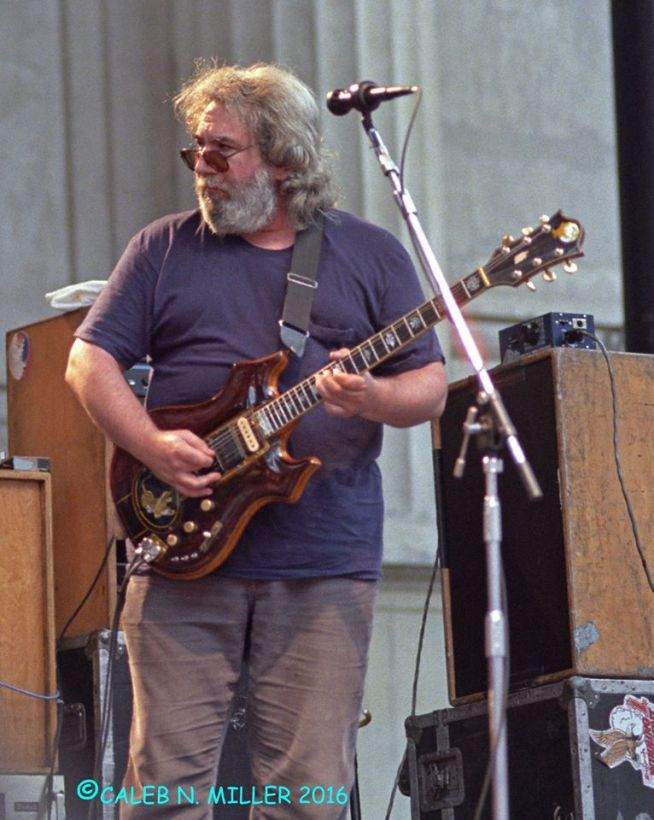 Jerry Garcia Band - Greek Berkeley 8.30.1987 by Caleb Miller (11)