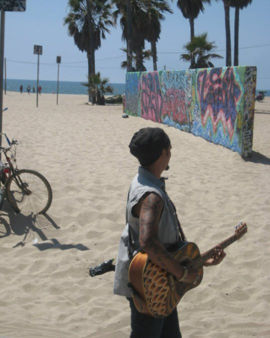 """VIDEO Michael Franti """"Sound of Sunshine"""" plus behind the scenes photos from the 2011 Venice Beach video shoot."""