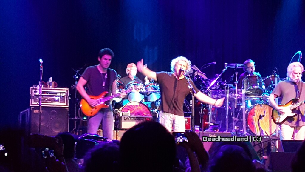 "Sammy Hagar joined Bob Weir & Dead and Co  ""Loose Lucy"" @FillmoreSF"