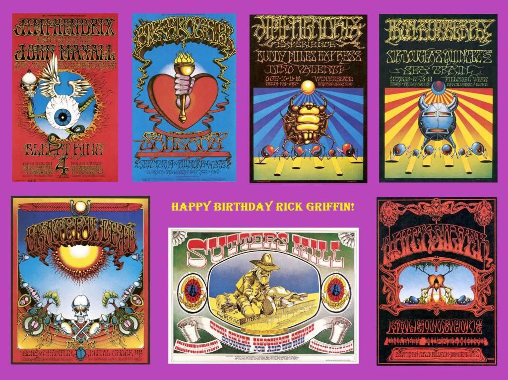 Rick Griffin Happy Birthday