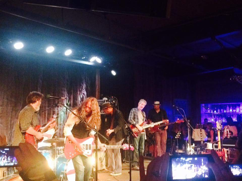Phil Lesh of the Grateful Dead joined San Geronimo for their new album release party at Terrapin Crossroads