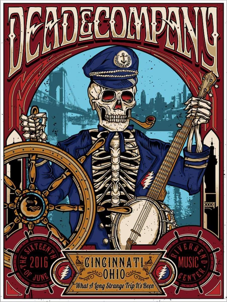 SETLIST Dead and Company | Summer Tour 2016 | Riverbend Music Center, Cincinnati, Ohio | June 16th 2016